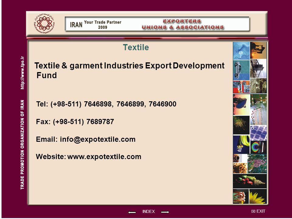 Textile & garment Industries Export Development Fund