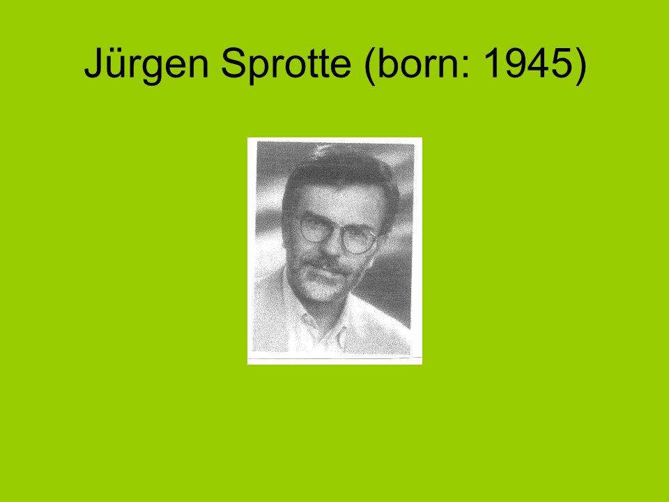 Jürgen Sprotte (born: 1945)