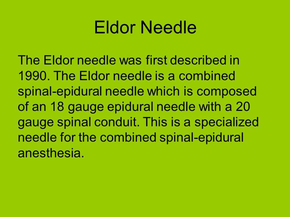 Eldor Needle