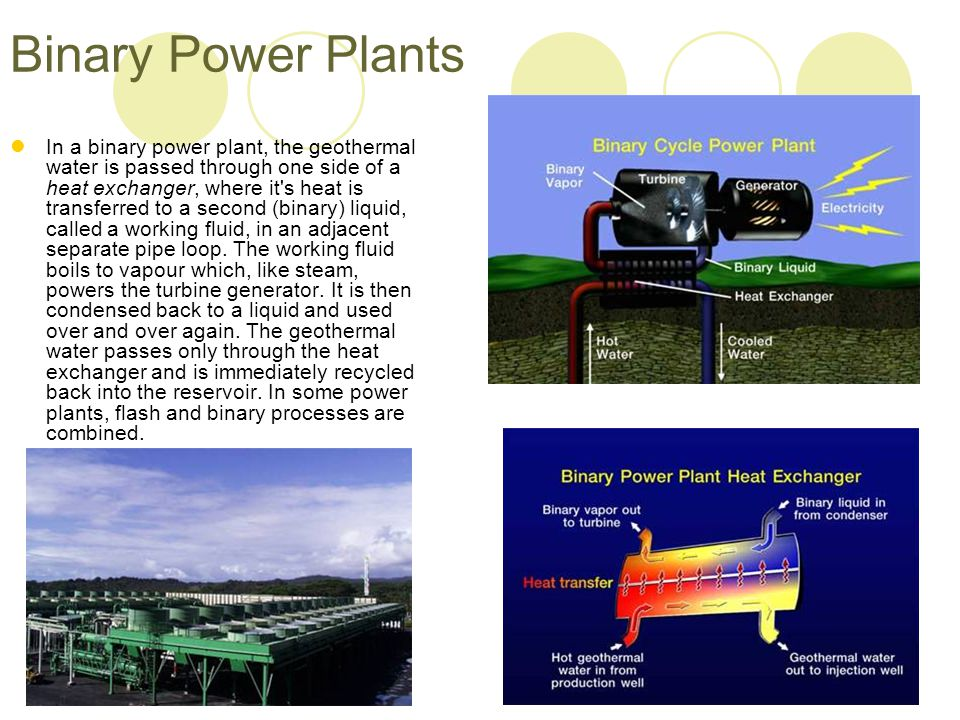 Binary Power Plants