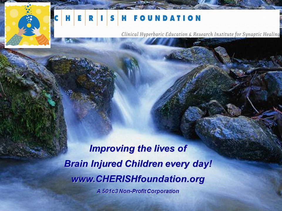 Brain Injured Children every day! A 501c3 Non-Profit Corporation