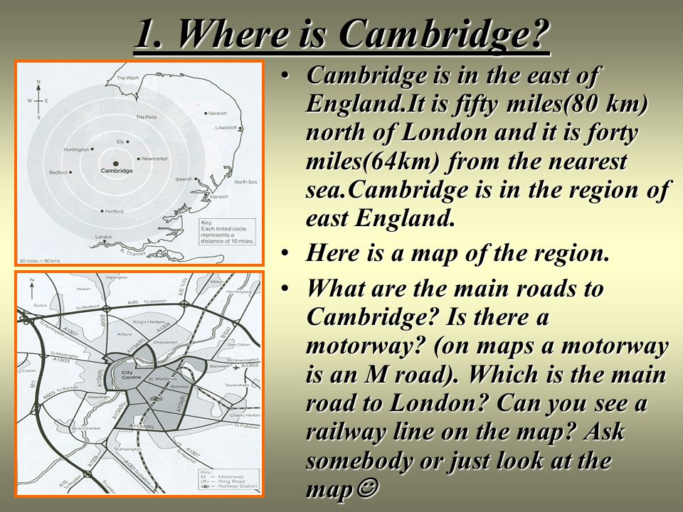 England Cambridge Ppt Video Online Download - Where is cambridge