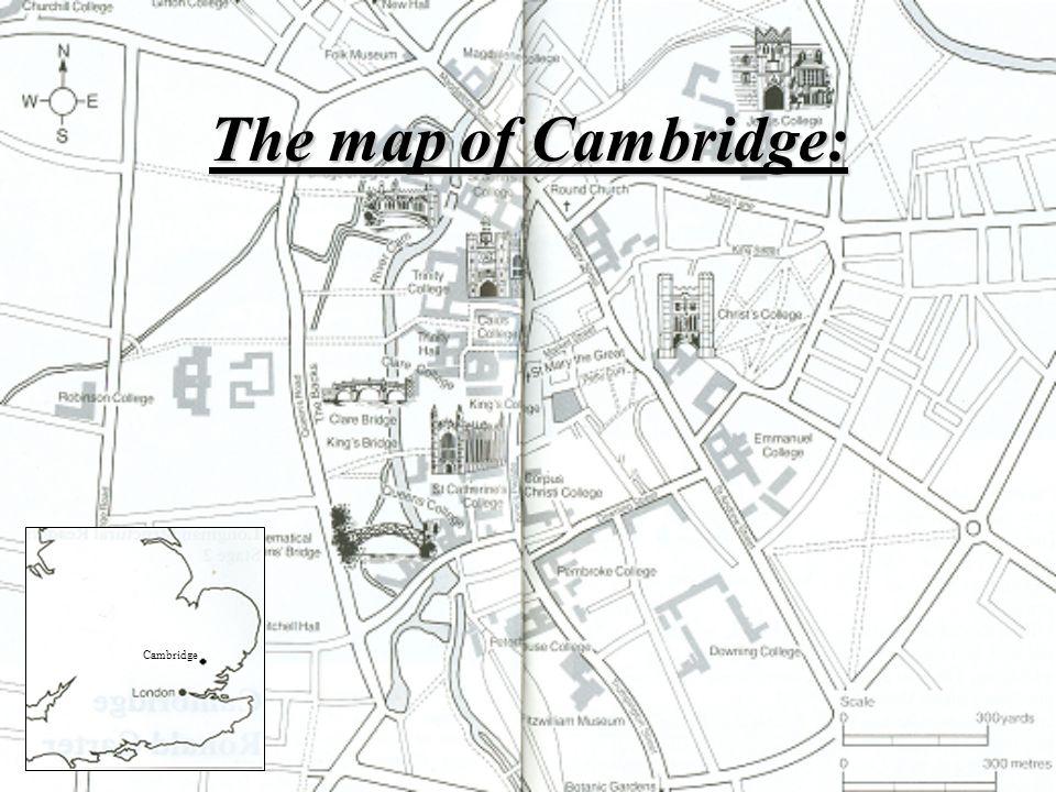 The map of Cambridge: Cambridge