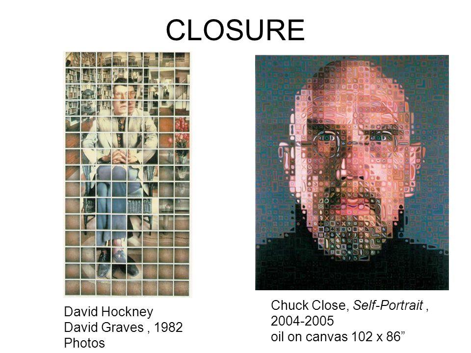 CLOSURE Chuck Close, Self-Portrait , 2004-2005