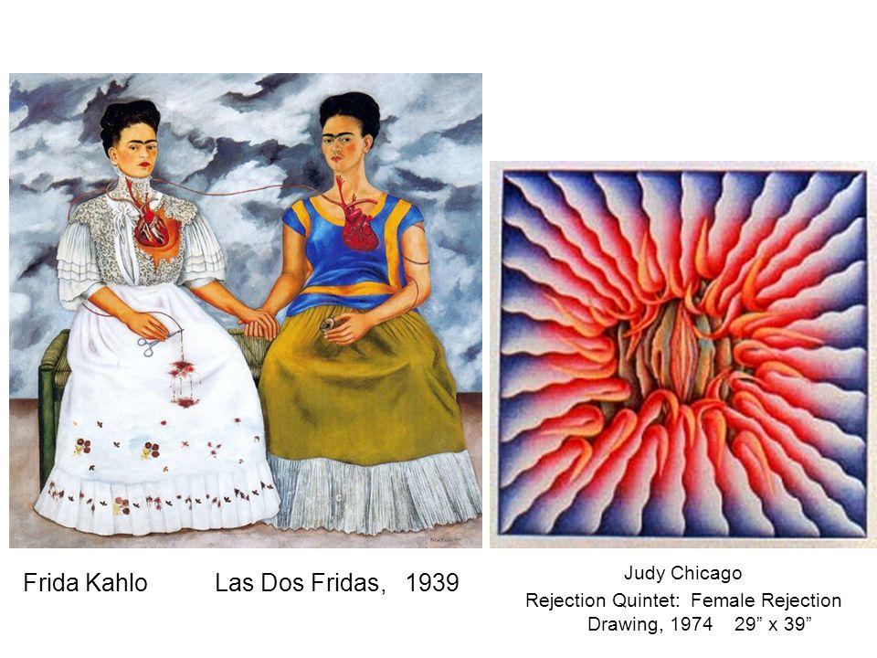 Frida Kahlo Las Dos Fridas, 1939