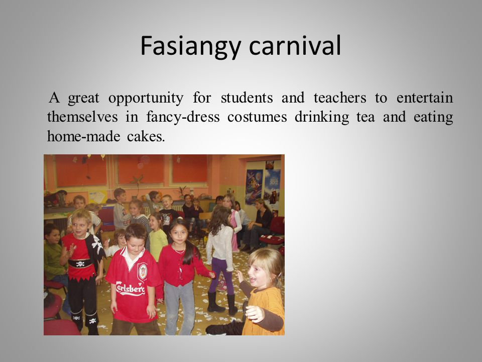 Fasiangy carnival
