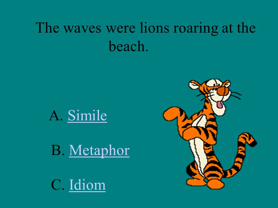 The waves were lions roaring at the