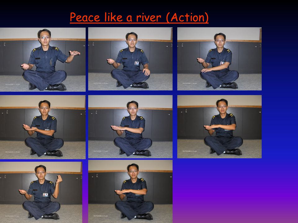 Peace like a river (Action)