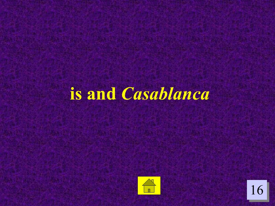 is and Casablanca 16