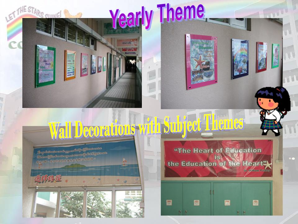 Wall Decorations with Subject Themes