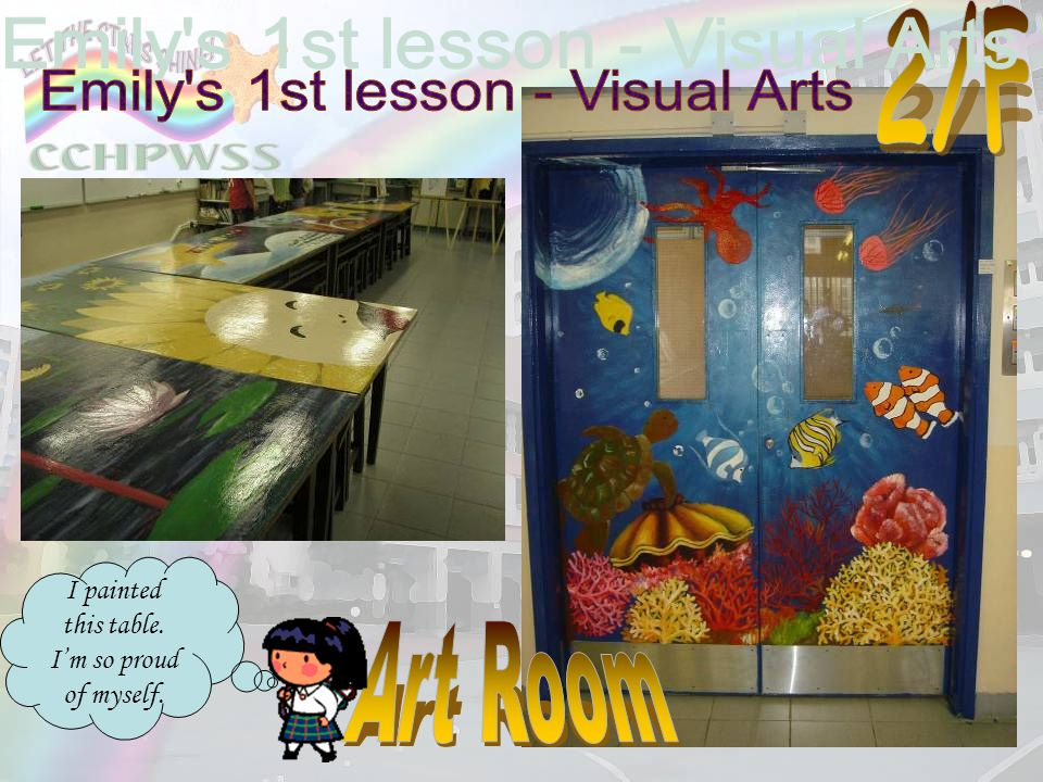 Emily s 1st lesson - Visual Arts