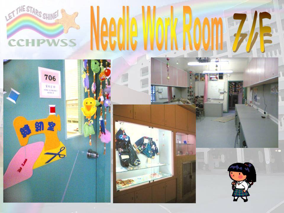 Needle Work Room 7/F.