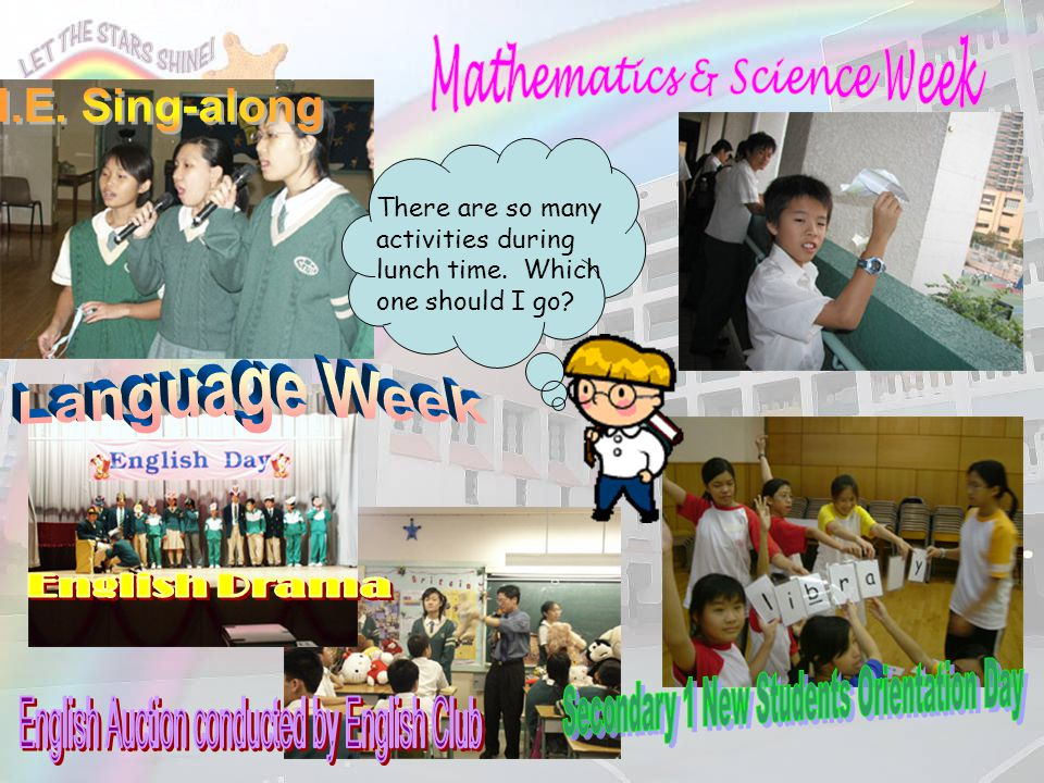 Mathematics & Science Week Secondary 1 New Students Orientation Day