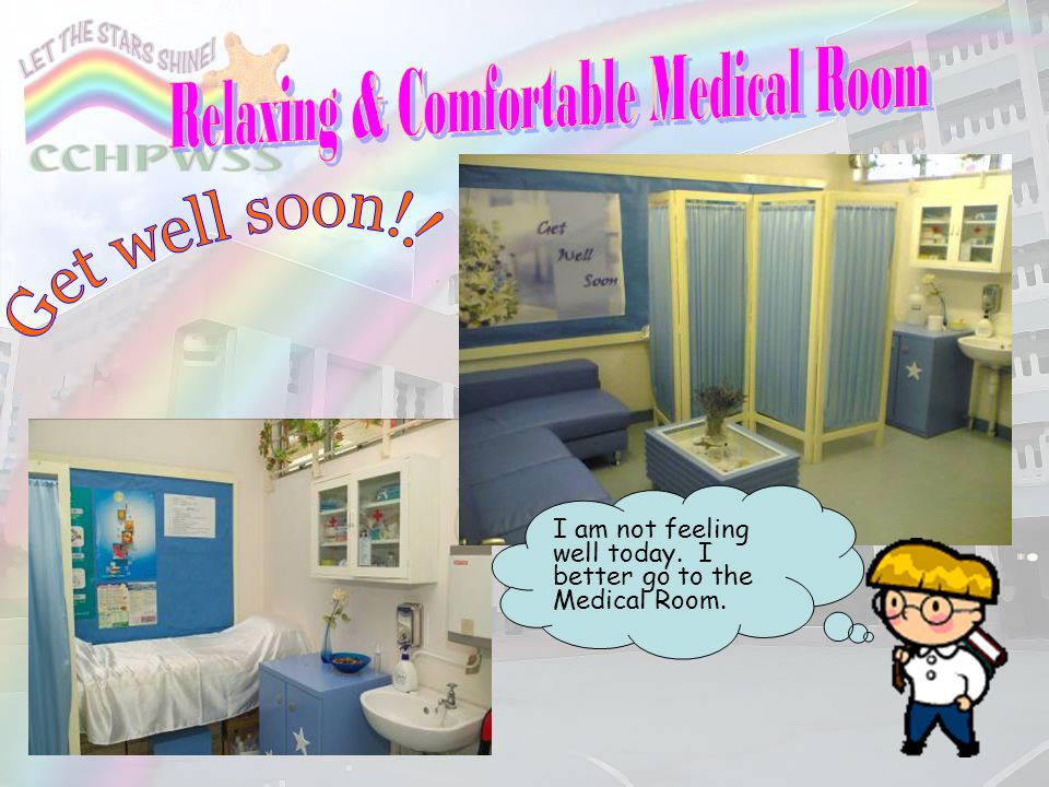 Relaxing & Comfortable Medical Room