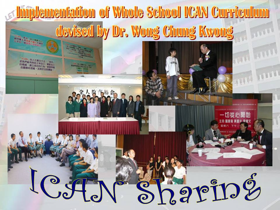 Implementation of Whole School ICAN Curriculum