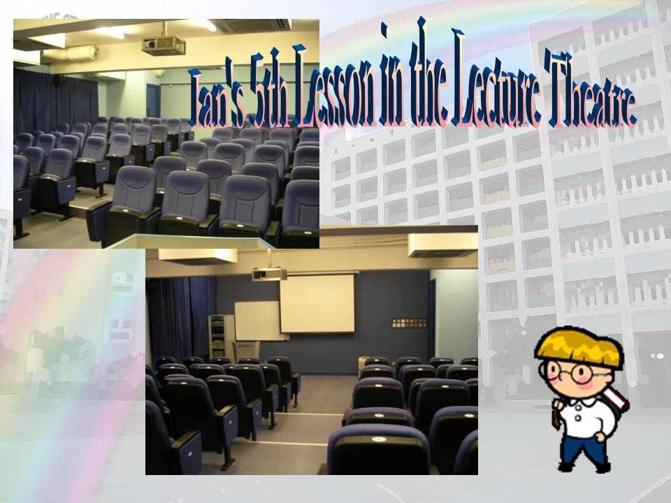 Ian s 5th Lesson in the Lecture Theatre