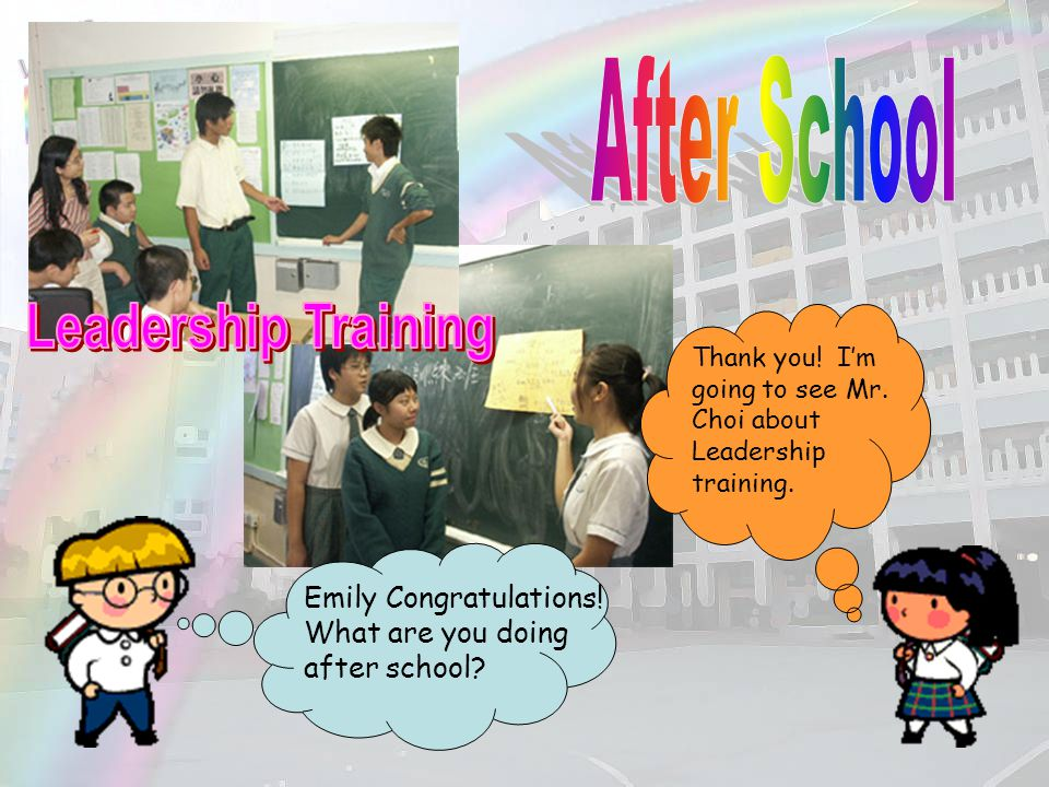 After School Leadership Training