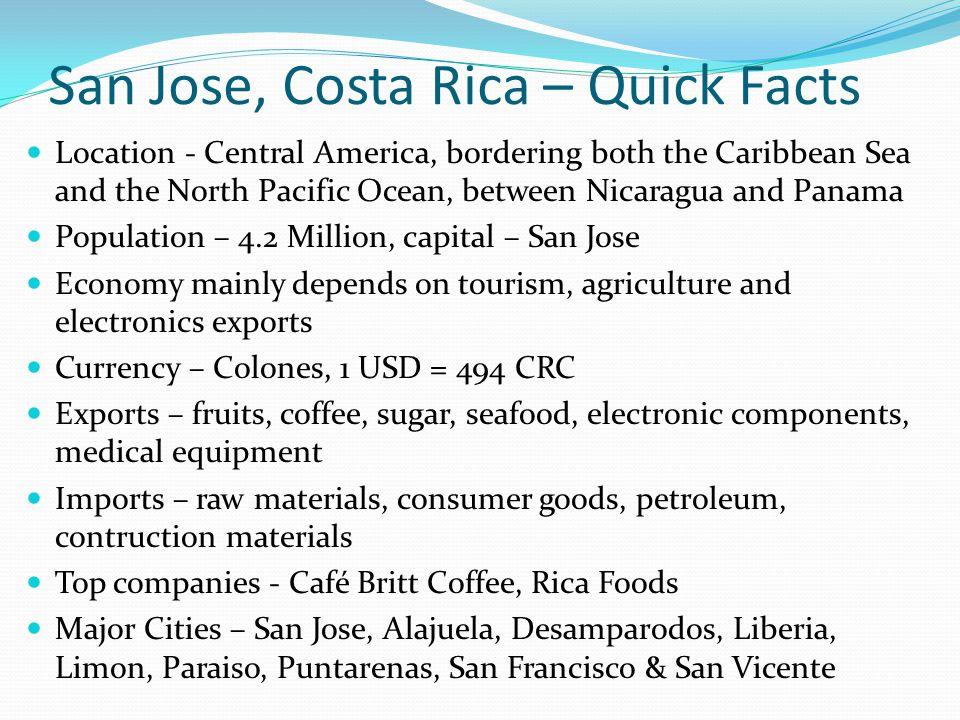 San Jose, Costa Rica – Quick Facts