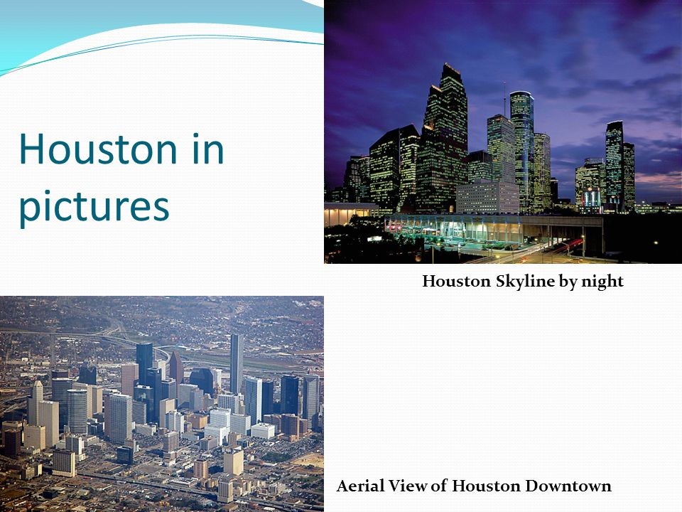 Houston in pictures Houston Skyline by night