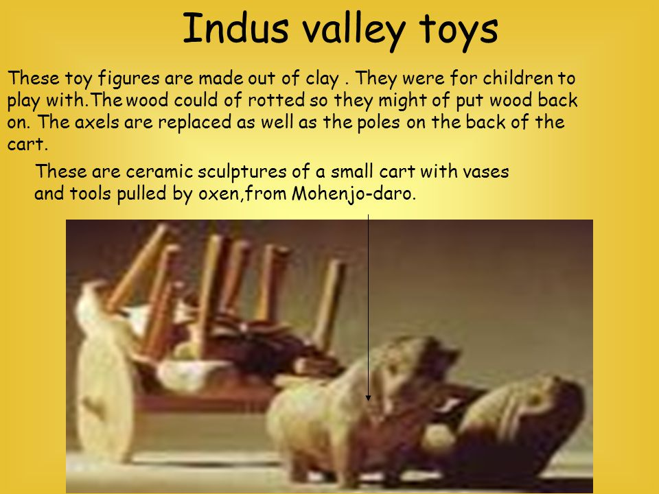 Indus valley toys