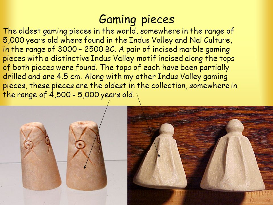 Gaming pieces