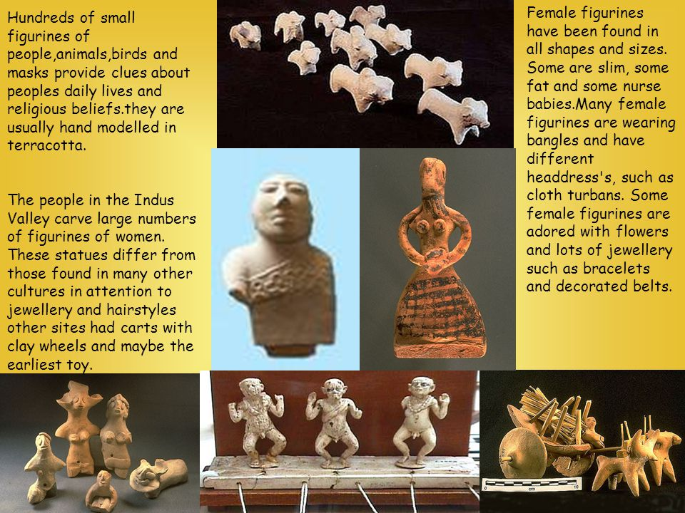 Female figurines have been found in all shapes and sizes