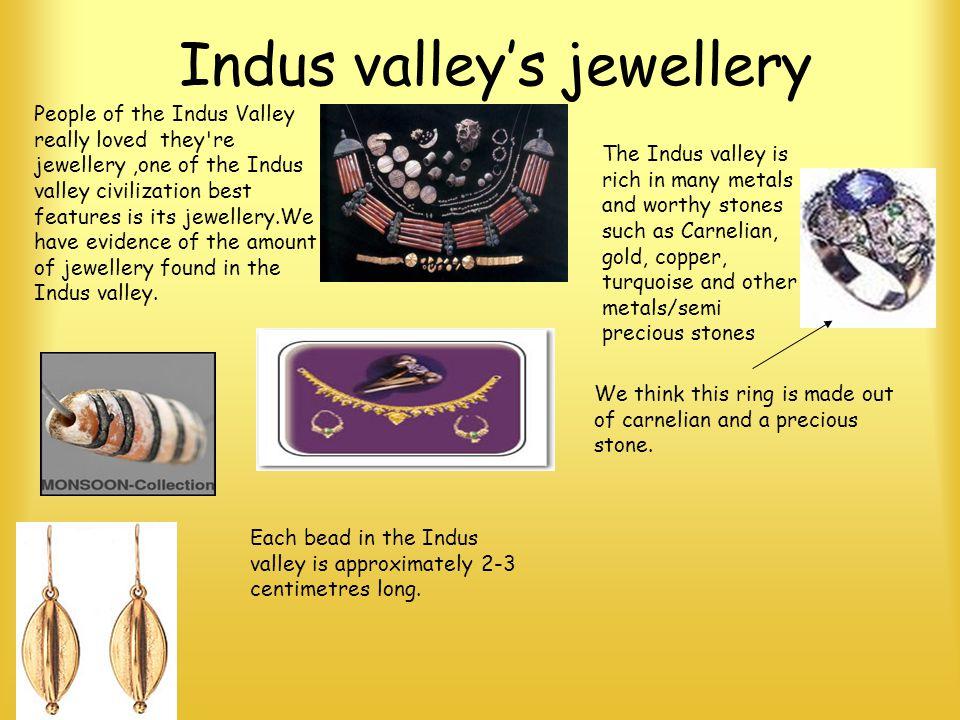 Indus valley's jewellery