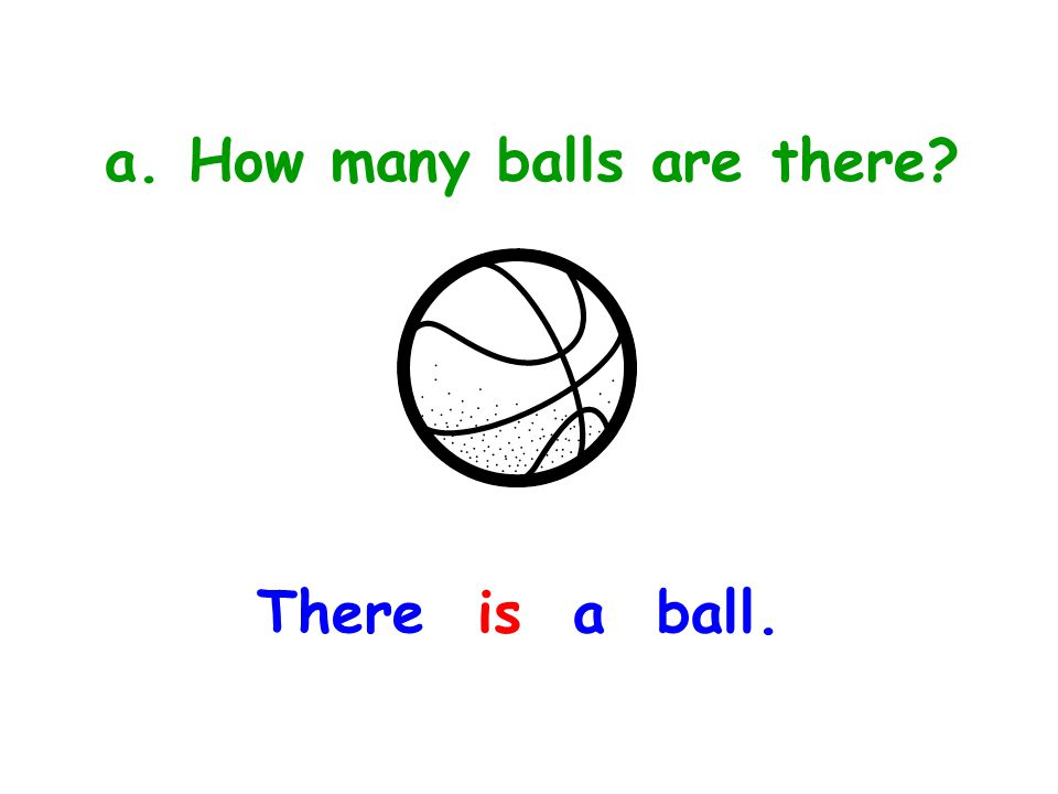 a. How many balls are there