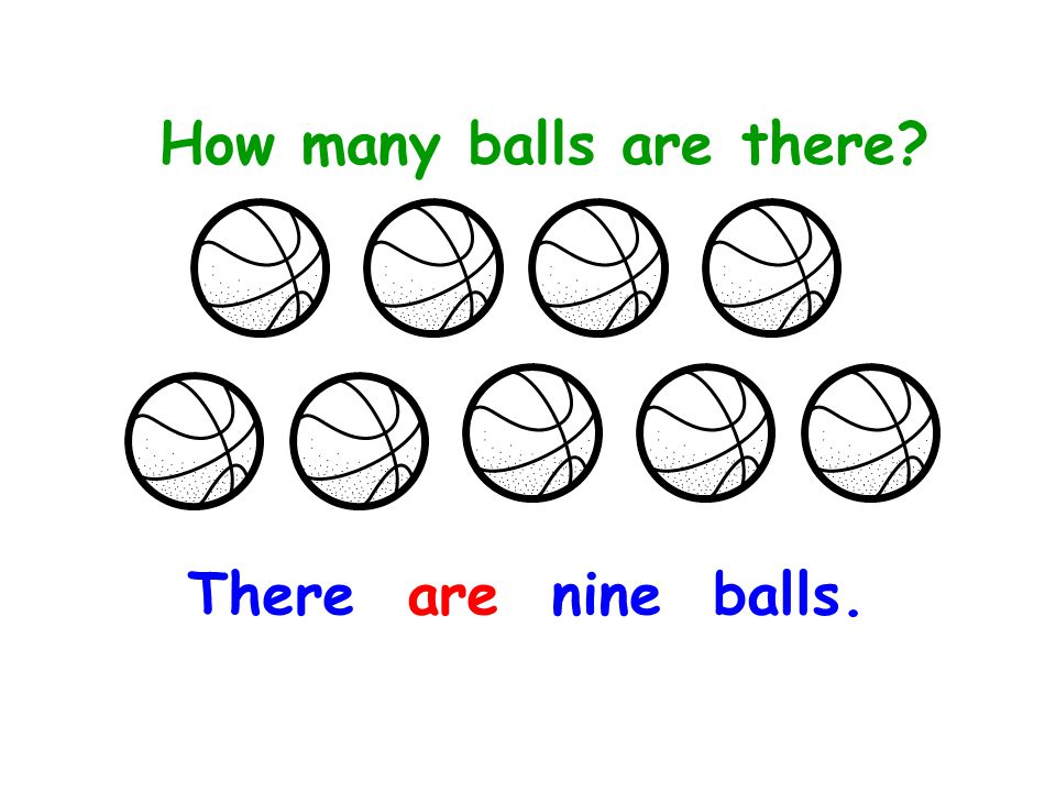 How many balls are there