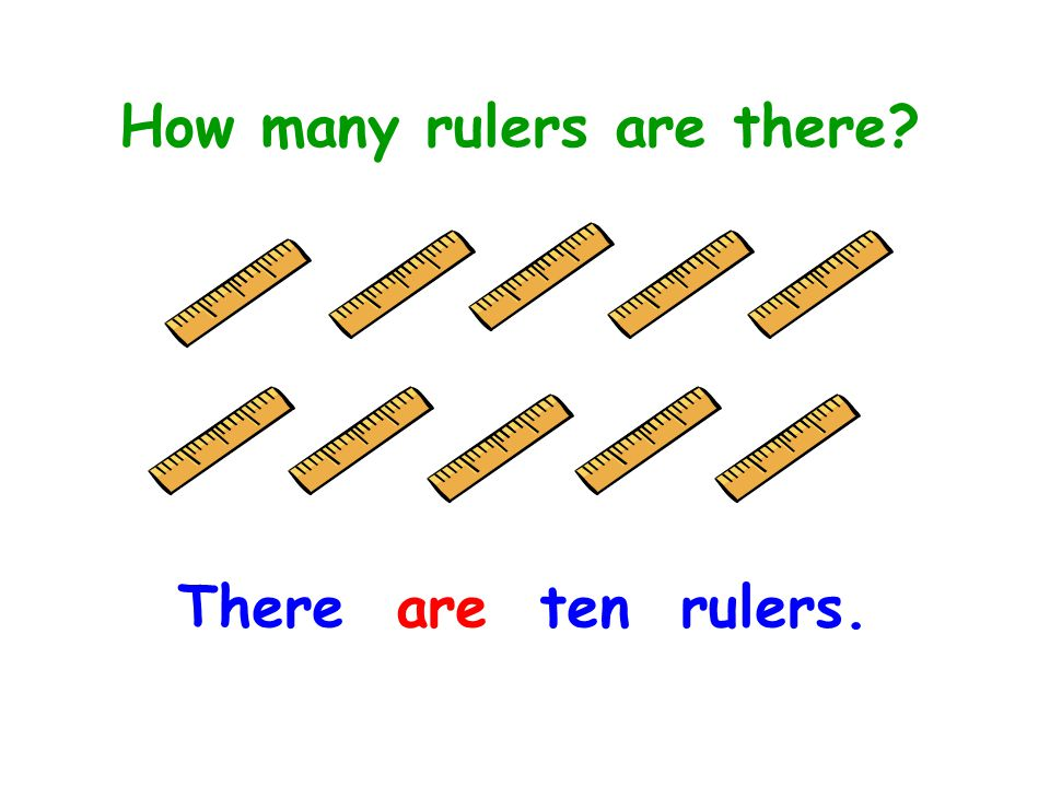 How many rulers are there