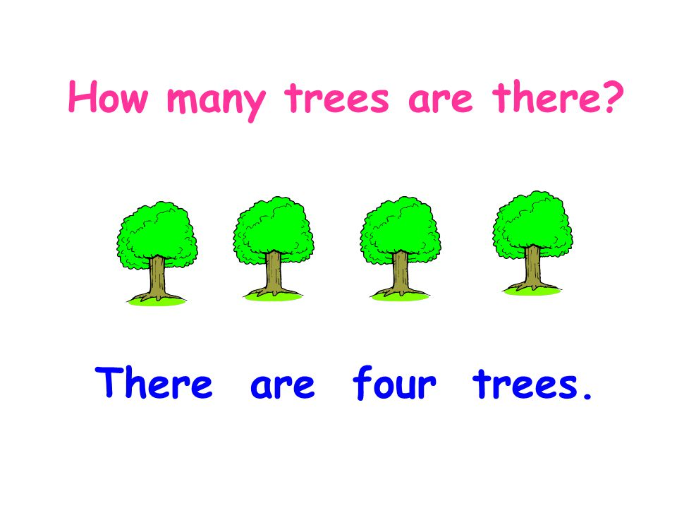 How many trees are there