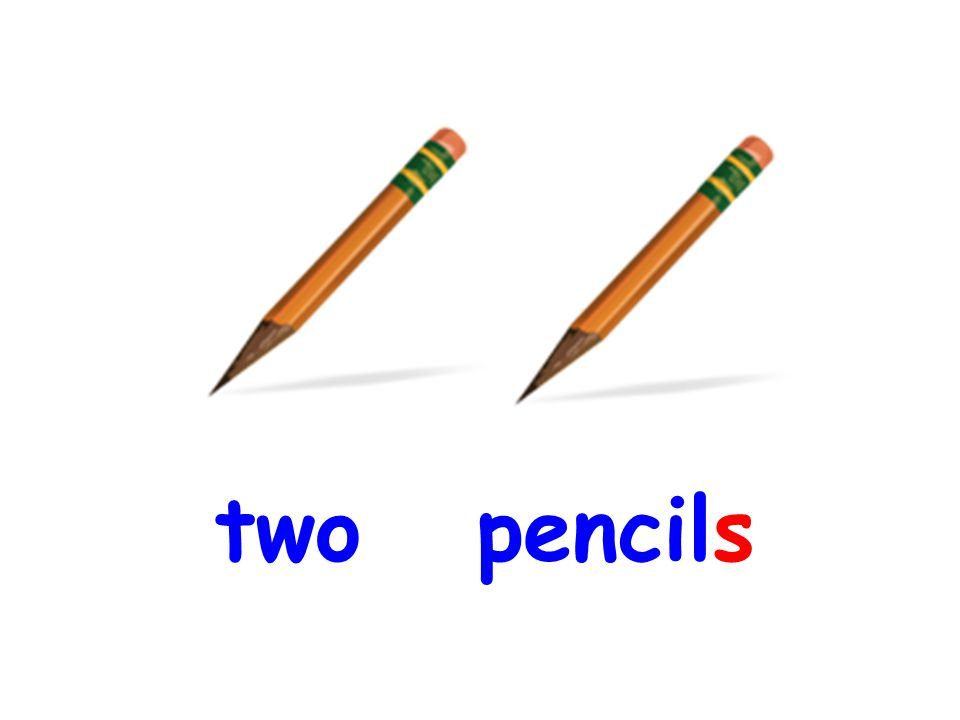 two pencils