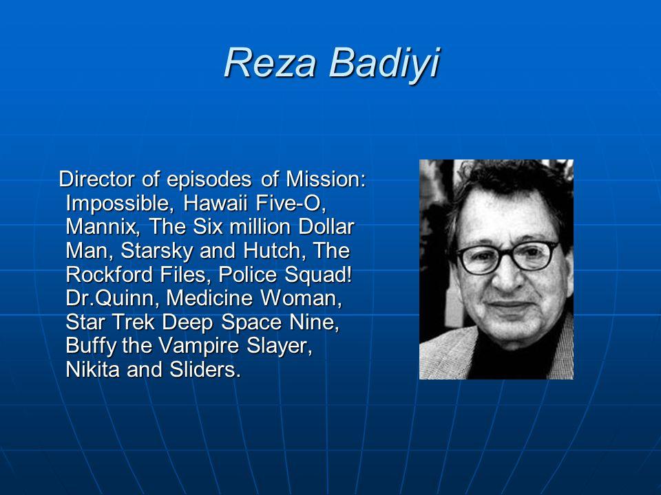 Reza Badiyi