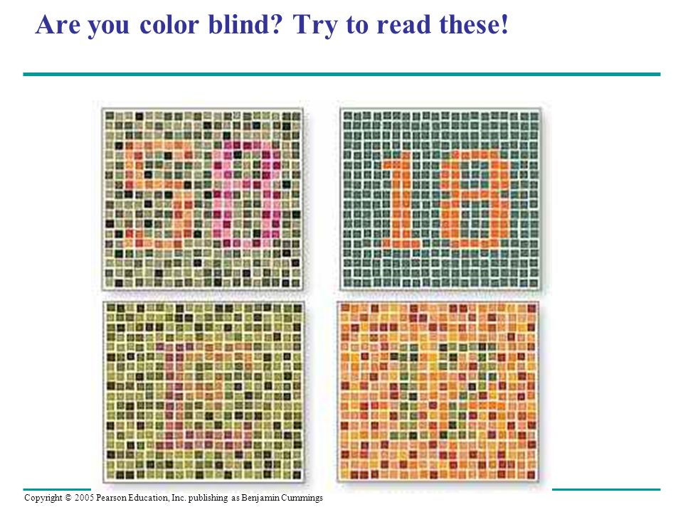 Are you color blind Try to read these!