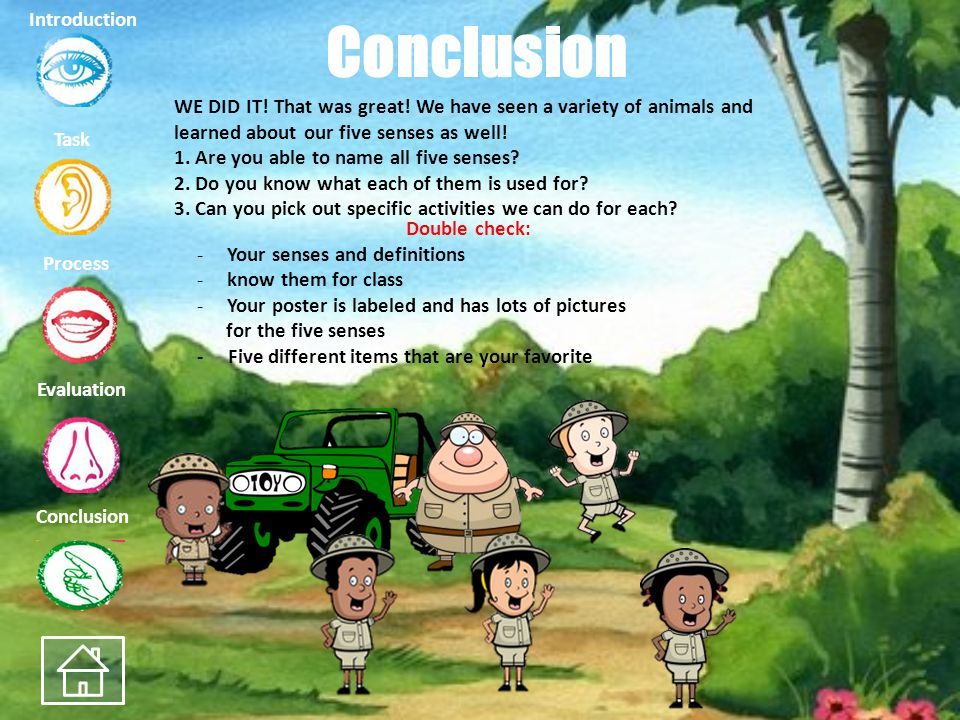 Conclusion Introduction