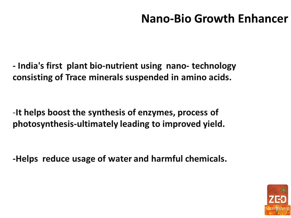 Nano-Bio Growth Enhancer