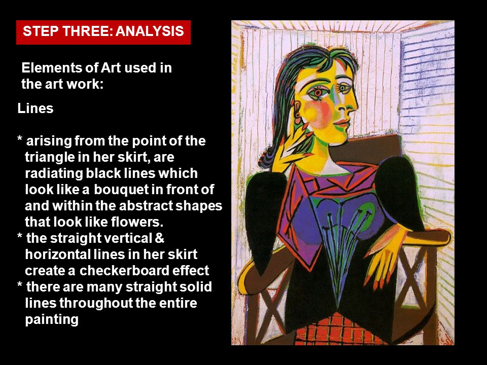 Elements of Art used in the art work: