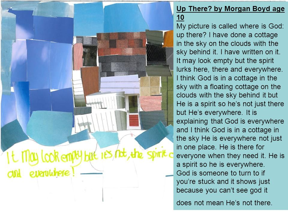 Up There by Morgan Boyd age 10