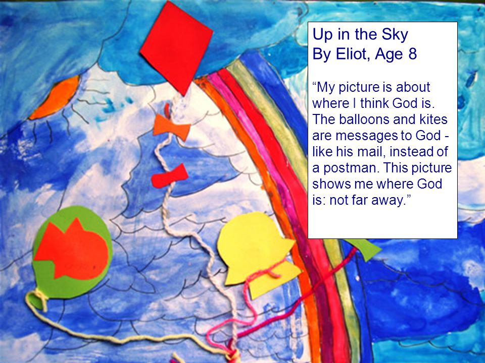 Up in the Sky By Eliot, Age 8