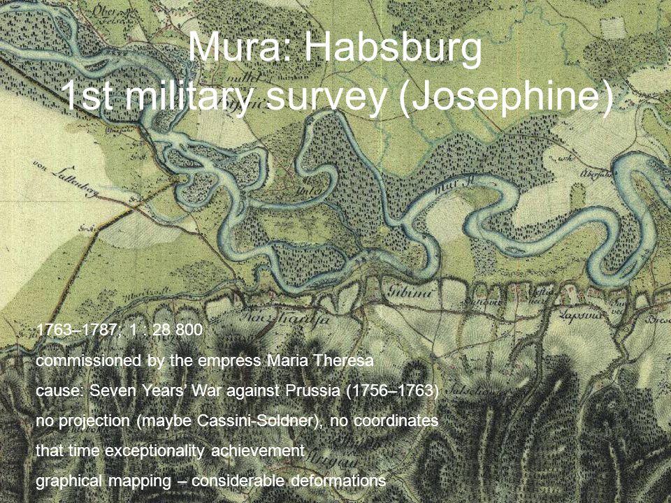 Mura: Habsburg 1st military survey (Josephine)