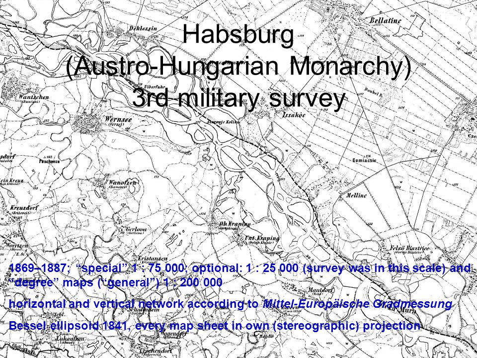 Habsburg (Austro-Hungarian Monarchy) 3rd military survey