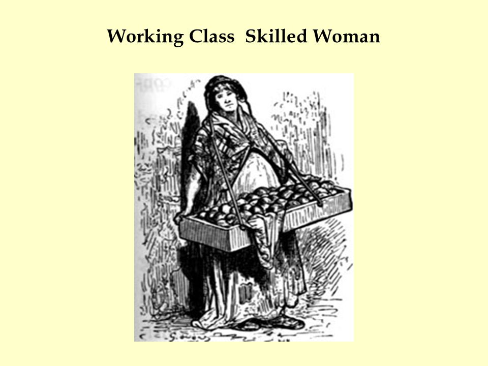 Working Class Skilled Woman