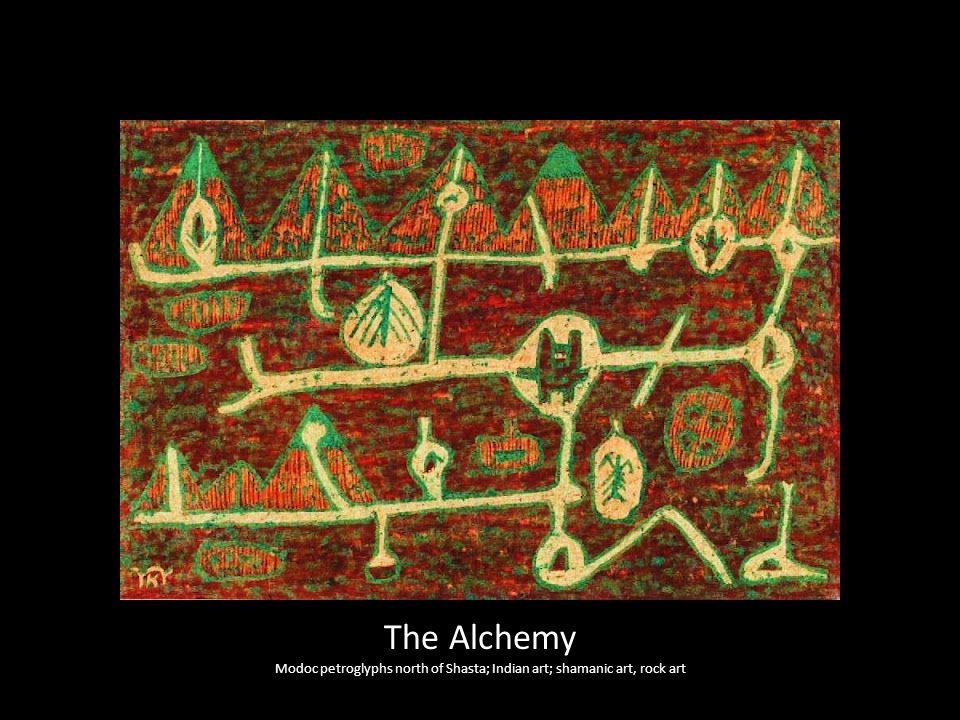 Modoc petroglyphs north of Shasta; Indian art; shamanic art, rock art