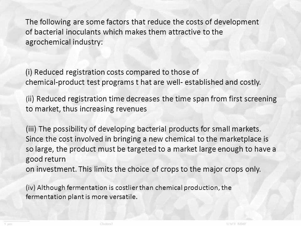 (i) Reduced registration costs compared to those of