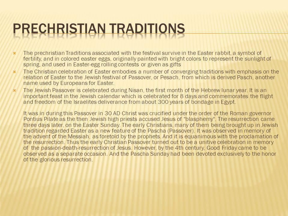 Prechristian Traditions