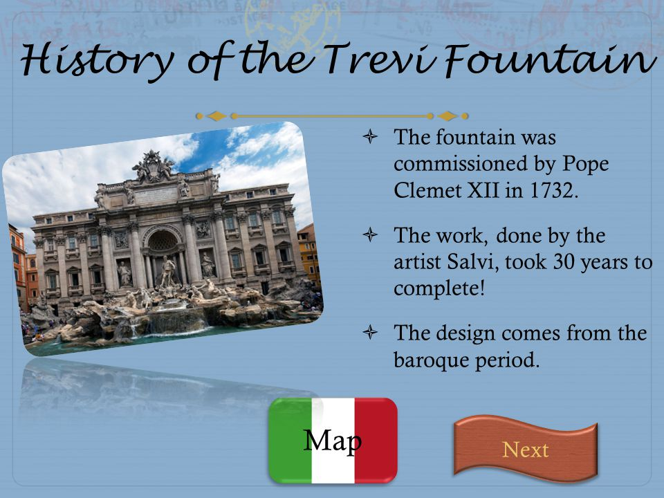 History of the Trevi Fountain