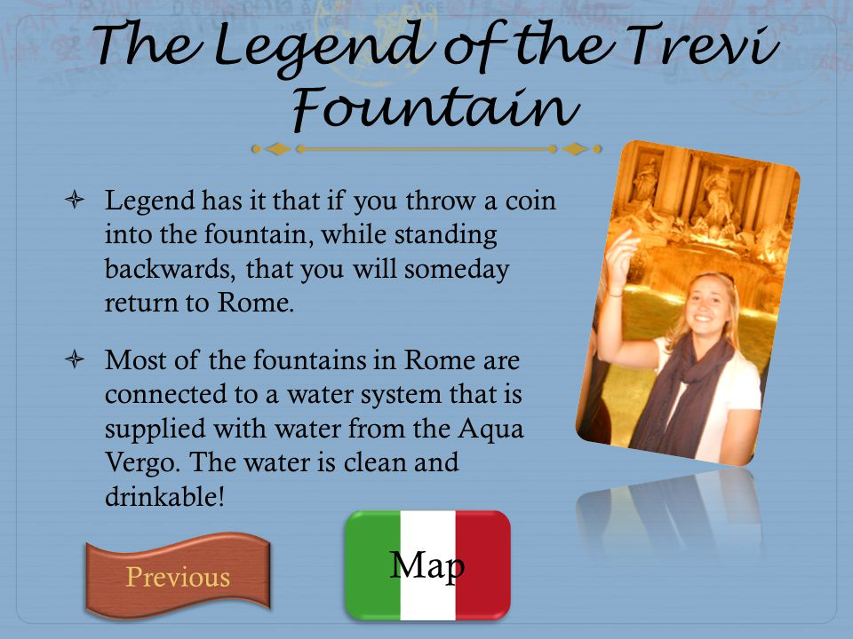 The Legend of the Trevi Fountain