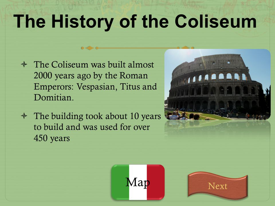 The History of the Coliseum