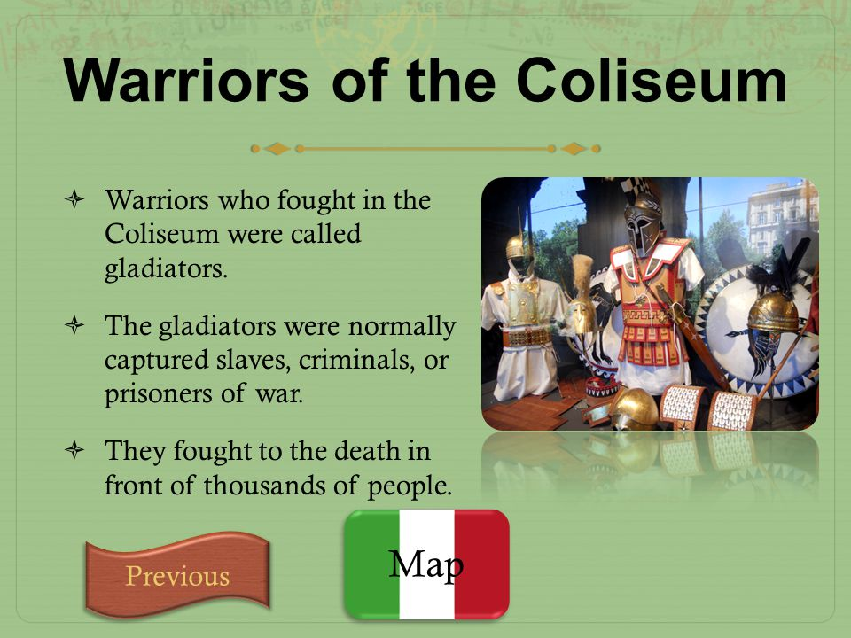 Warriors of the Coliseum