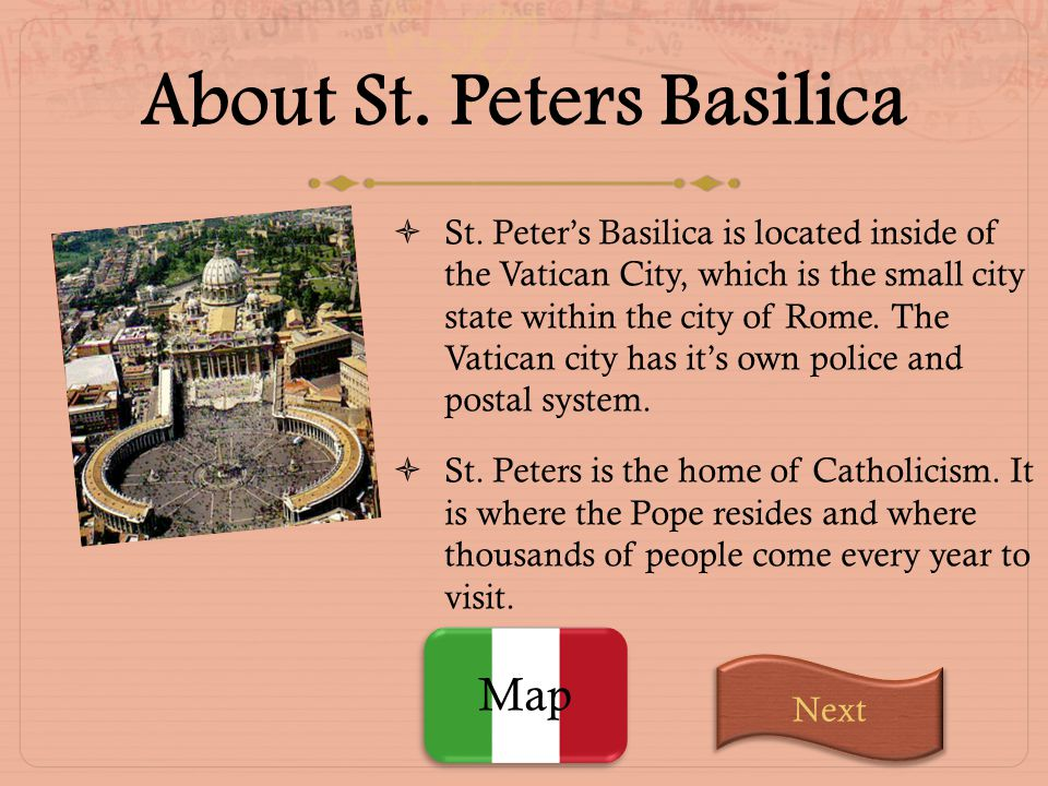 About St. Peters Basilica